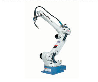 Industrial Robotic Arm CNC Welding Robot , White Robotic Welding Equipment